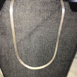 Jewelry - Sterling silver herringbone necklace